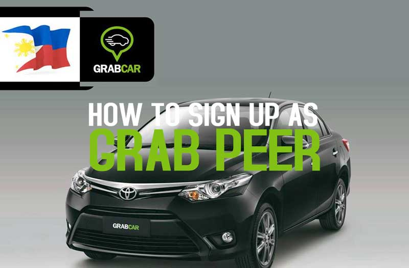 How to sign up as Grab Peer or Grab Car Operator