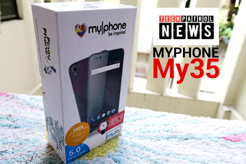 MyPhone My35 Box