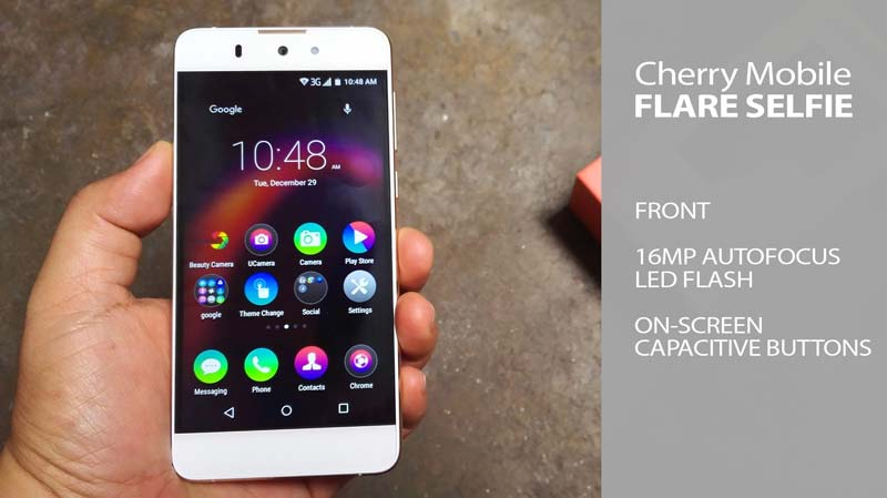 Cherry mobile flare selfie video unboxing features specs pricing
