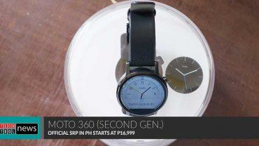 Moto 360 Second Gen