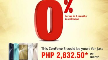 zenfone 3 instalment plan