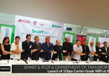 Up to 1Gbps Smart WiFi now live at NAIA Terminals; 11 Regional Airports