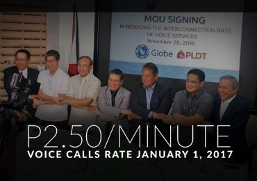 PLDT, Globe reduce voice interconnection rates to P2.50/minute