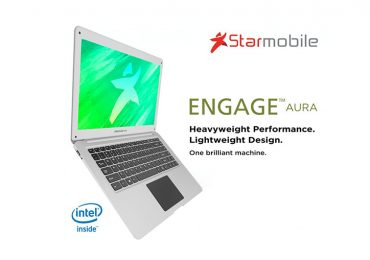 Starmobile Engage Aura 14: 14-incher Windows 10 Quad-core laptop