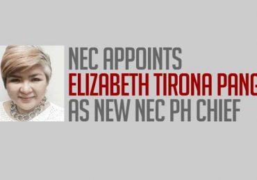 NEC PH is now headed by Elizabeth Pangan