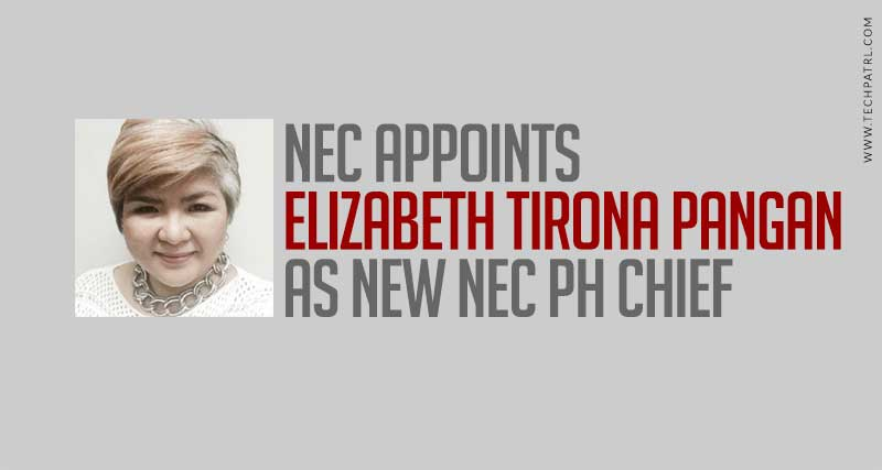 NEC PH is now headed by Elizabeth Pangan