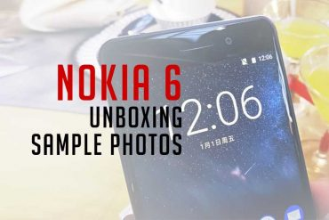Nokia 6 Unboxing & Sample Photos