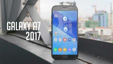 Samsung Galaxy A7 (2017) Hands-on