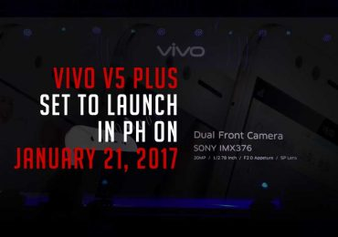 SURE NA: VIVO V5 Plus will be unveiled on January 21 in PH