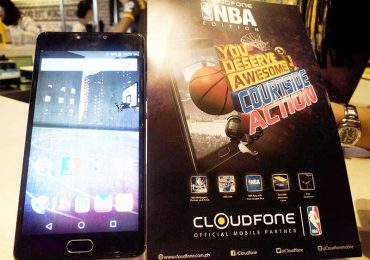 First NBA-branded smartphone by Cloudfone unveiled at the BTV All Star Festival