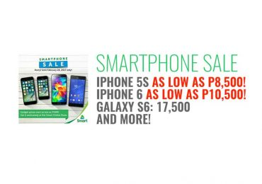 Smart Smartphone Sale: iPhone 5s as low as P8,500!