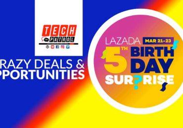 Lazada Fifth Birthday Sale: Crazy Deals + Opportunities