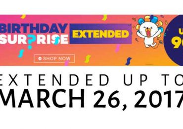 Lazada 5th Birthday Sale is EXTENDED!