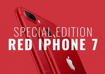 Apple launches Special Edition RED iPhone 7