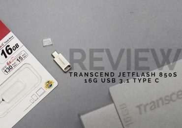 Transcend JetFlash 850s Review; 16G Type-C Flash Drive