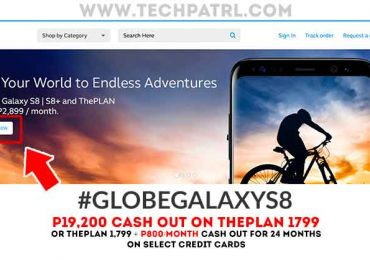 Globe Galaxy S8: P19,2000 on ThePlan 1,799, pre-order is now up