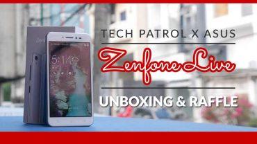 Unboxing: ASUS Zenfone Live