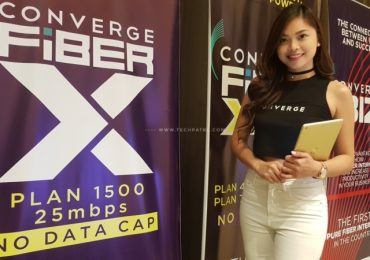 Converge ICT finally launches Fibr X; Plan starts at P1500 at 25Mbps