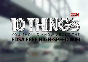 10 Things You Must Know about EDSA High-Speed Free WiFi
