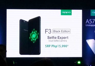 Black Edition OPPO F3 arriving in PH