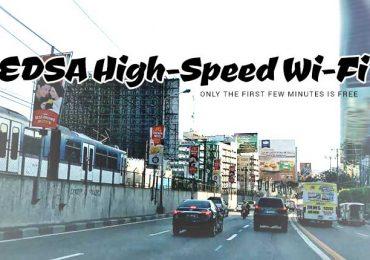 FREE WiFi in EDSA Beginning June 12, 2017