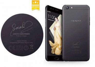 Limited Edition Sarah Geronimo OPPO F3 Black now available in Lazada