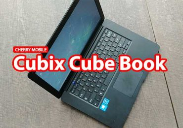 Cherry Mobile Cubix Cube Book is a 14-inch P7K affordable laptop