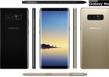 The press renders of Samsung Galaxy Note8 leaks in new images