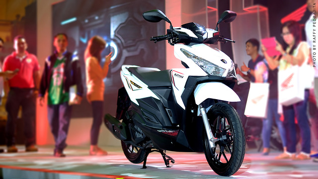 Honda PH launches Click 125i; futuristic fuel-injected scooter