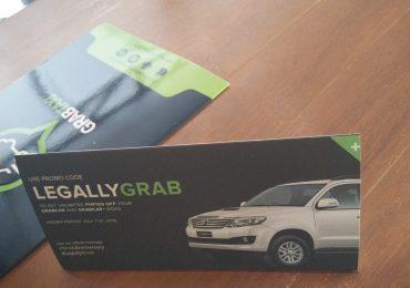 GrabCar Anniversary Promo Code