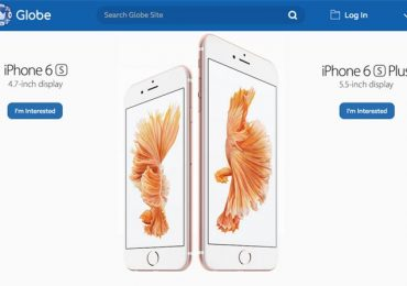 How to reserve Globe iPhone 6s or iPhone 6s Plus
