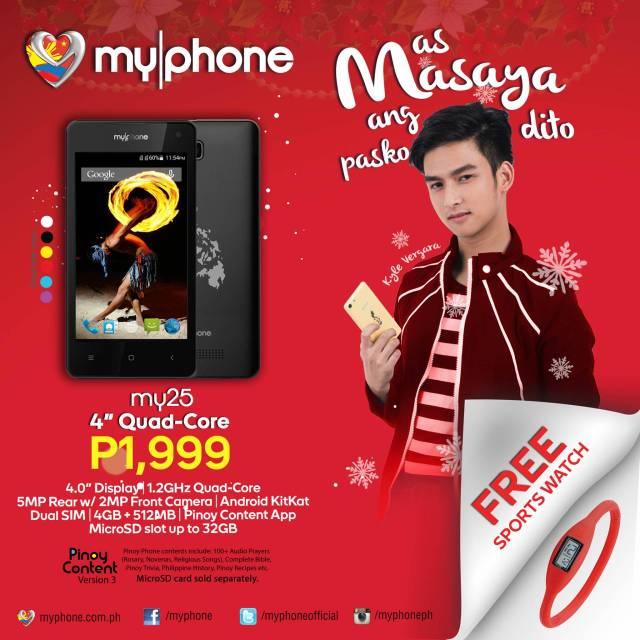 MyPhone My25