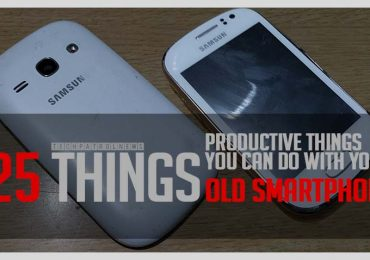Twenty five productive things you can do with an old smartphone
