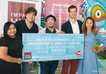 SkyEye wins Impact Hub Fellowship on Innovation in Mobility