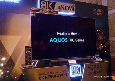 Sharp PH launches 8K Aquos XU series TV