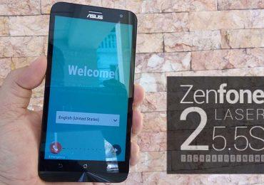 Unboxing: ASUS Zenfone 2 Laser 5.5S