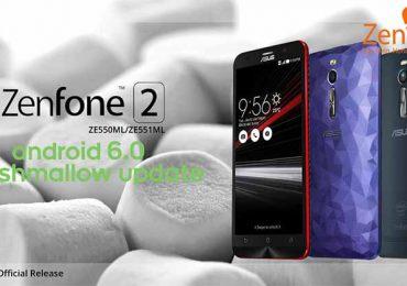 Zenfone 2 gets Marshmallow update