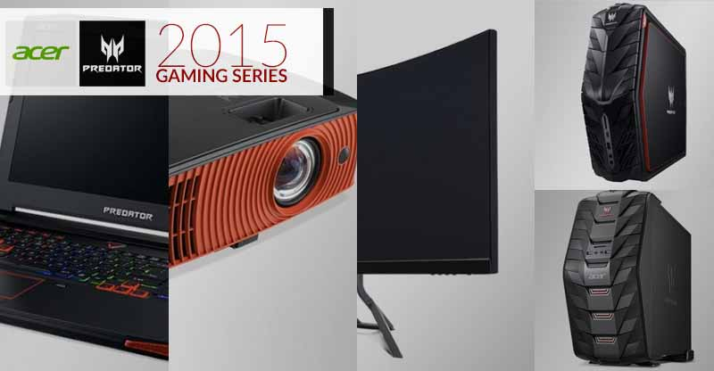 Photo of Acer Predator Gaming Series 2015 unveils in PH