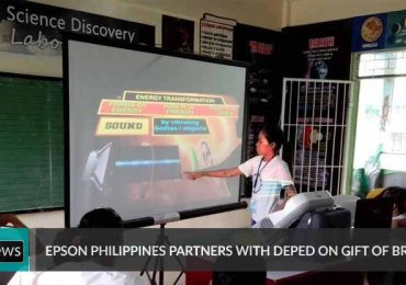 Epson PH partners with DepED on Gift of Brightness program