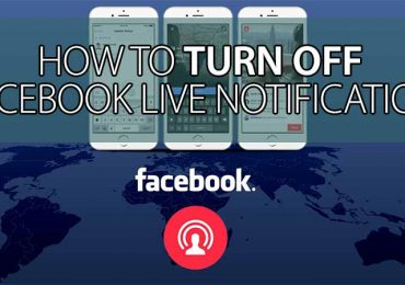 How to turn off Facebook Live notification