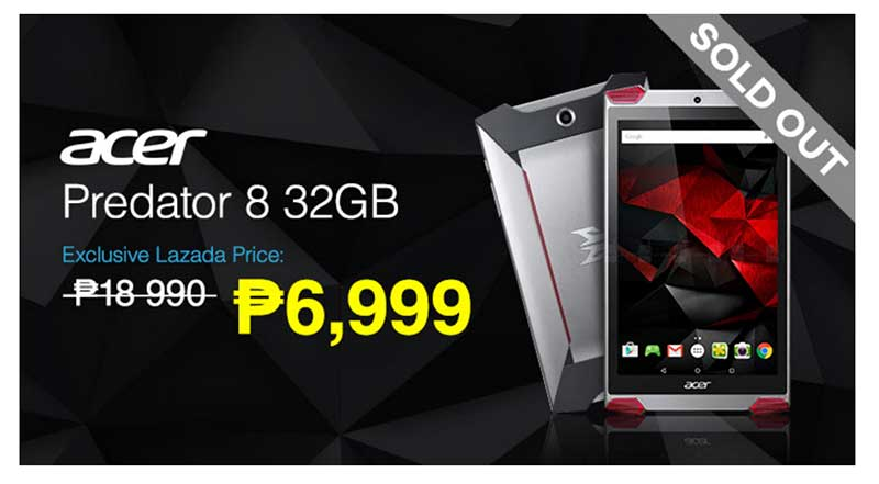 Photo of Report: Acer Predator 8 SOLD OUT in less than Half An Hour