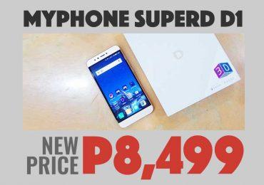 SuperD D1 new price: P8,499