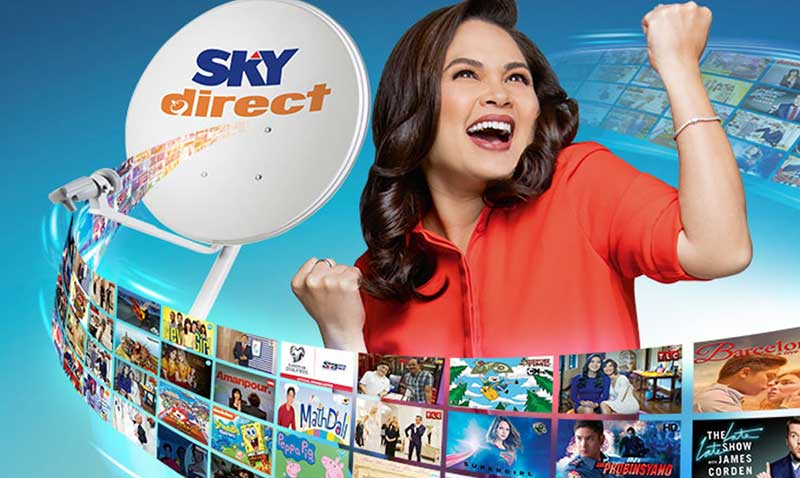 Photo of Sky Direct Prepaid Plans, Starts at Plan 99: 3 HD + 24 SD Channels