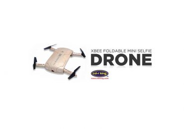 CDR King Drone: D-001-FLY XBEE Foldable Mini Selfie Drone