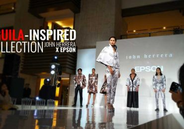 PH Fashion Designer John Herrera and Epson team up for an Aguila-inspired collection