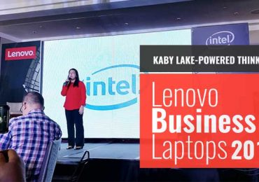 Lenovo Business Laptops with Kaby-Lake launched in PH