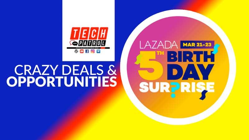 a450cdbf543b Lazada Fifth Birthday Sale  Crazy Deals + Opportunities » Tech Patrol