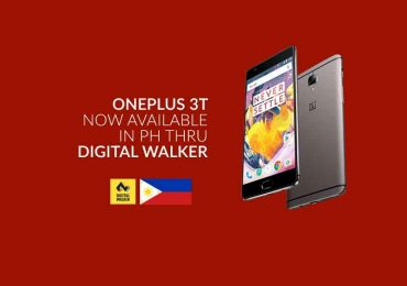 OnePlus 3T is now available in the Philippines thru Digital Walker