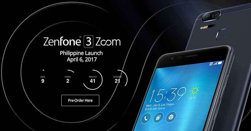 Asus Zenfone 3 Zoom Pre Order Page Is Now Live
