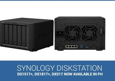 Synology introduces new DiskStations: DS1517+ and DS1817+